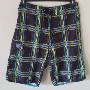 Burnside men's board shorts size 32